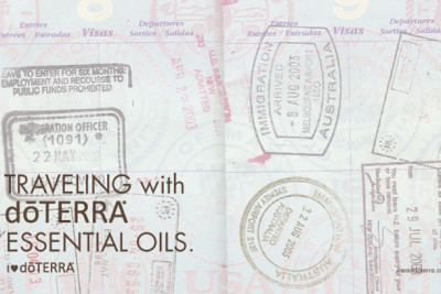Traveling this Holiday? Play it safe with the oils.